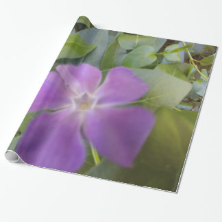 Wrapping Paper- Little Purple Bloom Wrapping Paper