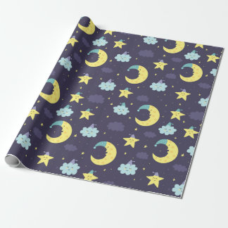 Wrapping Paper - Night Time Lullaby