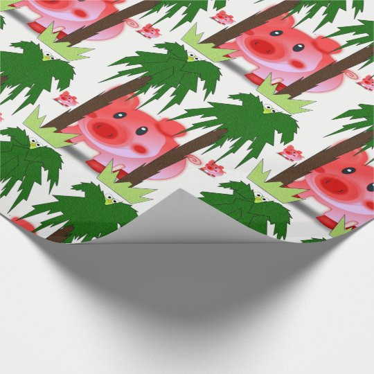 Wrapping paper Pigs