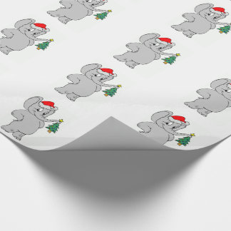Wrapping Paper/Santa Elephant
