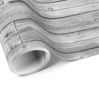 Wrapping Paper - Weathered Barn Wood