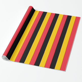 Wrapping paper with Flag of Belgium