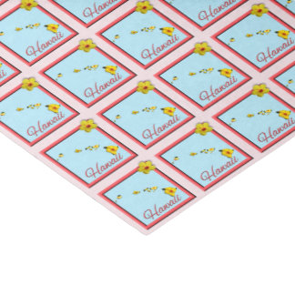Wrapping Tissue - HAWAII - Framed Icon Tissue Paper