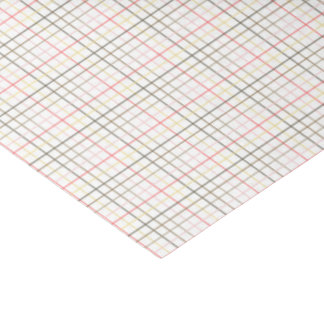 Wrapping Tissue - Plaid for Chinook Salmon Tissue Paper