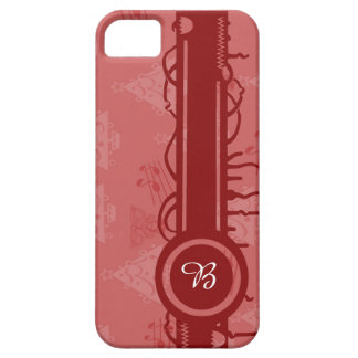 wraps with motives for Christmas and mono gram iPhone 5 Covers