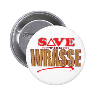 Wrasse Save 2 Inch Round Button