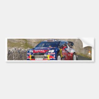 WRC Rally Car Cover Bumper Sticker