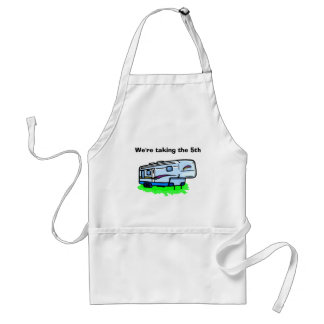 """""""W're taking the 5th"""" apron"""