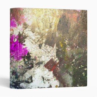 Wreak Havoc Abstract Art Binder