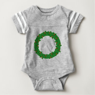 Wreath Baby Bodysuit