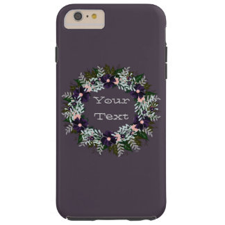 "Wreath ""Dark Purple"" Apple iPhone 6/6s Plus Tough iPhone 6 Plus Case"