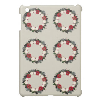 "Wreath ""Fleur"" Flowers Floral iPad Mini Case"