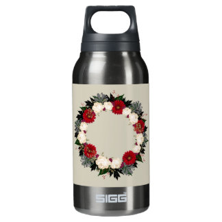 "Wreath ""Fleur"" Flowers Floral Water Bottle"