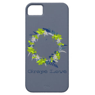 "Wreath ""Grape Love"" Flowers Floral SE Phone Case"