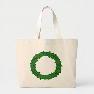 Wreath Large Tote Bag