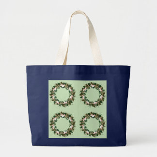 "Wreath ""Mini Flower"" Flowers Floral Tote Bag"
