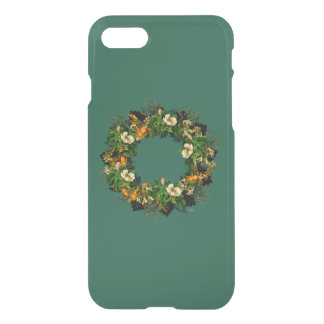 "Wreath ""Old Gold"" Flowers Floral Phone Case"