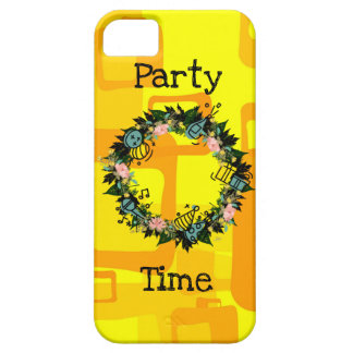 """Wreath """"Party Time"""" Flowers Floral Phone Case"""