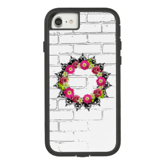 "Wreath ""Pink Grape"" Flowers Floral Phone Case"