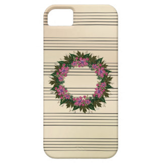 "Wreath ""Purple Dot"" Apple iPhone SE + 5/5s iPhone 5 Case"
