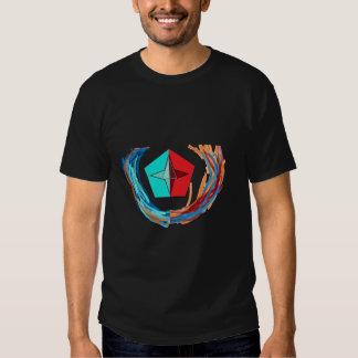 wreath triangle tee shirt