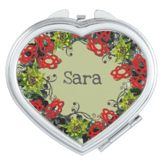 Wreath Wedding Flowers Floral Vector Sara Sarah Travel Mirrors
