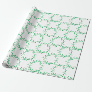 wreath wrapping paper