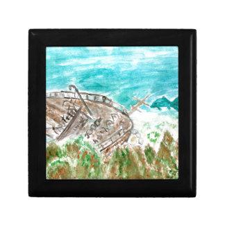 Wreck Boat Art Gift Box