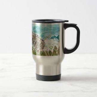 Wreck Boat Art Travel Mug