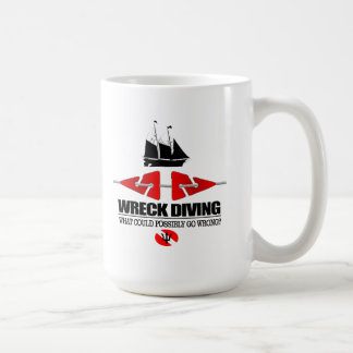 Wreck Diving (What Could Possibly Go Wrong?) Coffee Mug
