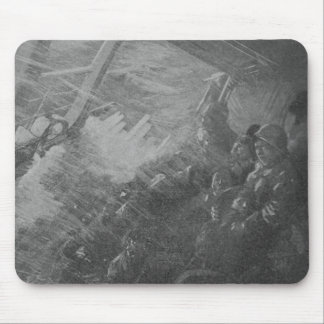 Wreck & Sinking of the Titanic 1912 Mouse Pad