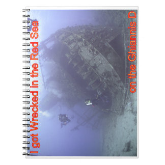 Wrecked in the Red Sea Notebook