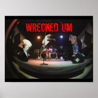 Wrecked 'Um Live Studio Poster