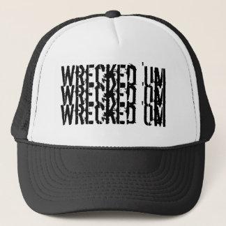 Wrecked 'Um Tri-Logo Baseball Cap