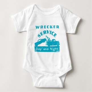 Wrecker Service Infant Creeper