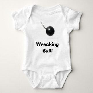Wrecking Ball! Baby Bodysuit