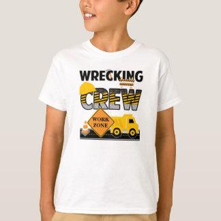 Wrecking Crew Shirt, Construction Work Zone T-Shirt