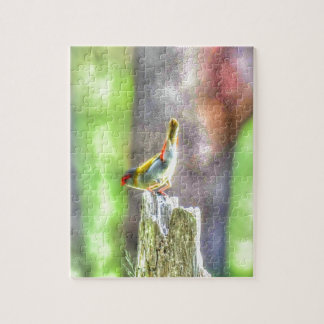 WREN AUSTRALIA ART EFFECTS JIGSAW PUZZLE