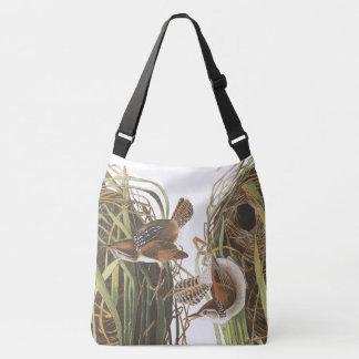 Wren Birds Audubon Wildlife Flowers Tote Bag