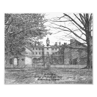 Wren Building Photo Print
