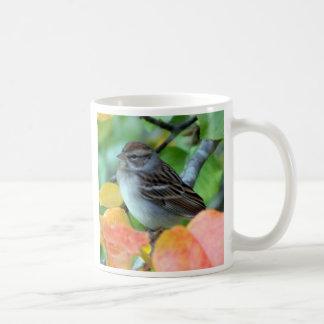Wren in Leaves Coffee Mug