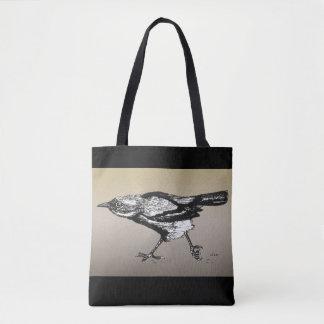 Wren on the Run Tote Bag