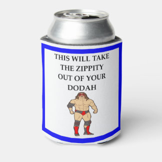 wresting can cooler
