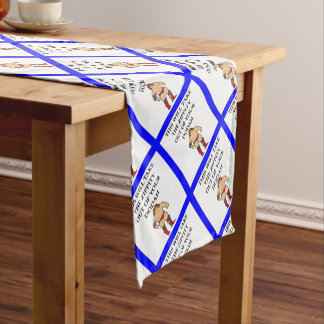 wresting short table runner