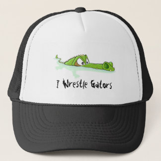 Wrestle Alligators Hat