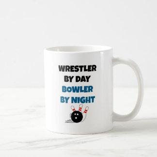 Wrestler Bowler Coffee Mug