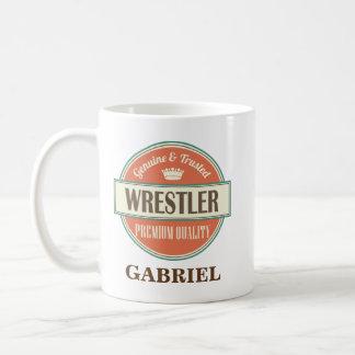 Wrestler Personalized Office Mug Gift