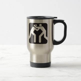 Wrestlers Icon Stainless Steel Travel Mug