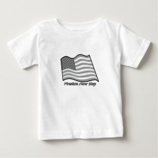 Wrestlers Never Stop Wrestling Baby T-Shirt