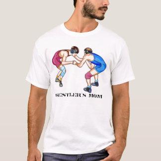 Wrestling-12, Wrestler's MOM T-Shirt